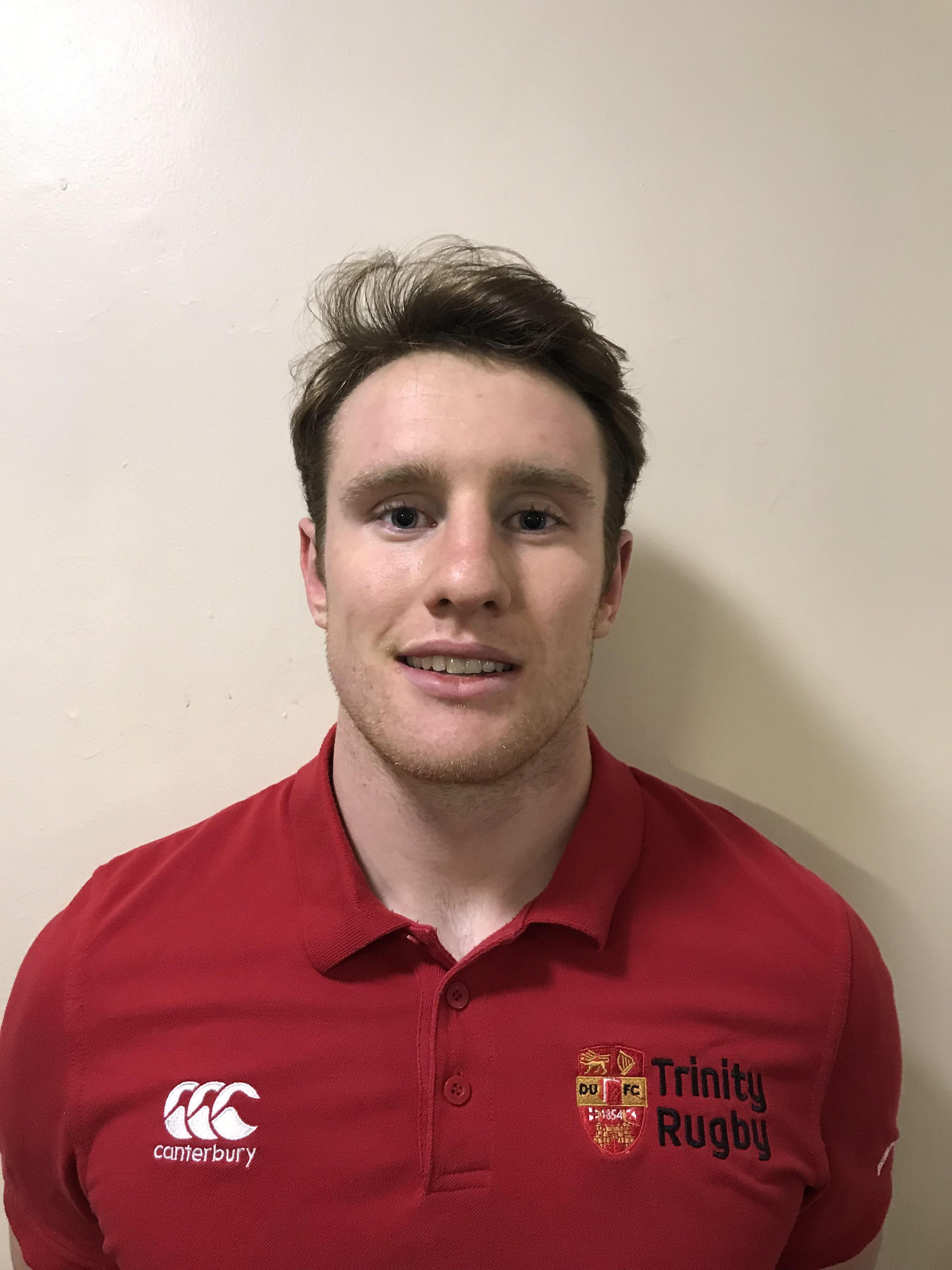 McKeown - Dublin University Football Club - Trinity Rugby