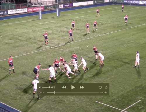 D.U.F.C. INTO LEINSTER SENIOR CUP FINAL – video of try