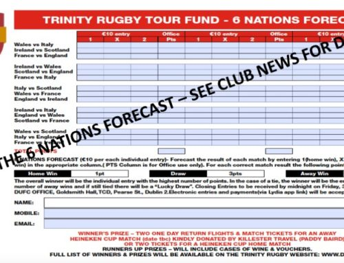 PLAY THE SIX NATIONS FORECAST 2020!