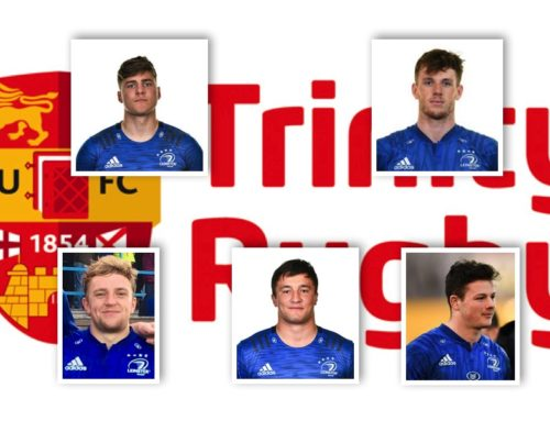 Trinity Academy – 5 players involved Scarlets v Leinster